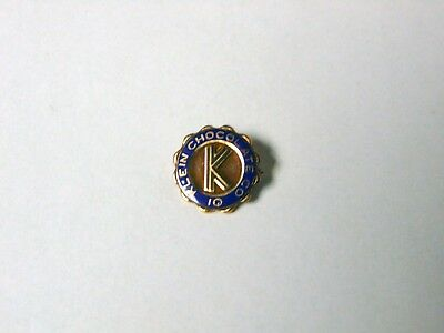 Antique Klein Chocolate 10K Gold 10 Year Pin Elizabethown PA FREE S&H Hershey