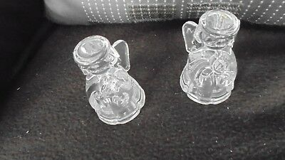**New** Lenox Crystal Angels Salt and Pepper Shakers Set