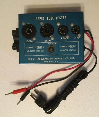 Vintage Accurate Instrument Co. Rapid Tube Tester