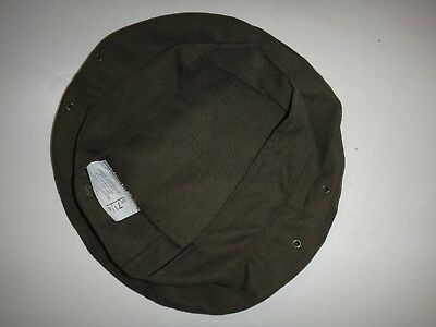 Green OD MILITARY SERVICE CAP COVER Fits U.S Size 7-1/4 *New, Never Used*