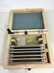 """KURT USA 366001 6 PC MAGNETIC JAW PARALLEL SET Vise, 6"""", New Old, NO RESERVE!"""