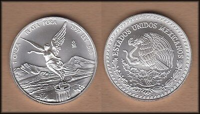 1997 Mexico One Ounce SILVER Libertad - UNC