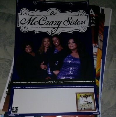 POSTER by The McCray SISTERS let's go for the tour