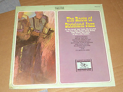 The Roots Of Dixieland Various Artists Pee Wee Russell Jo Jones Lp Vinyl Sealed