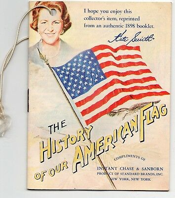 "2 Vintage Advertising Chase & Sanborn Coffee ""our Flag"" & Rumford Recipes 1929"