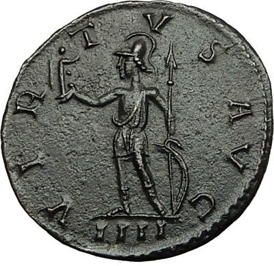 PROBUS Genuine 278AD Lugdunum RARE Authentic Ancient Roman Coin VIRTUS i65462