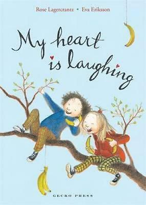 NEW My Heart is Laughing By Rose Lagercrantz Paperback Free Shipping