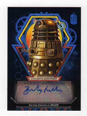 Doctor Who Extraterrestrial Encounters ... Barnaby Edwards Auto Autograph #11/25