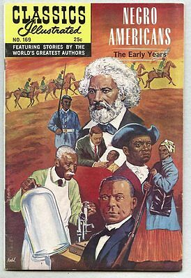 Classics Illustrated #169-1969-vfn 1st edition Negro Americans The Early Years