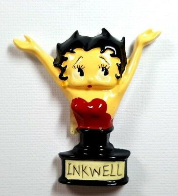 RARE Vintage Ceramic Magnet Betty Boop Benjamin Medwin 1995 MINT Condition