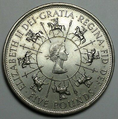 1993 Great Britain 5 Pounds coin, UK