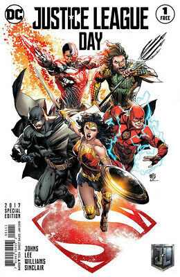 JUSTICE LEAGUE #1 SPECIAL EDITION, New, First print, DC REBIRTH (2016)