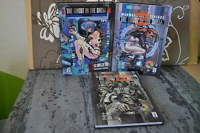 Ghost in the shell 1+2 & 1.5 Manga Neuauflage Hardcover