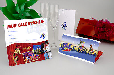 Musical ALADDIN Tickets 2x PK 2 + Hotel 3* in Hamburg / 2 Tage / 2 Pers. / + CD