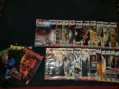 Bundle Paranormal Magazines Job Lot 23 Issues Supernatural