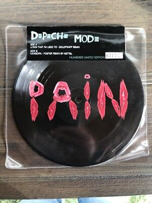 Depeche Mode A pain that I'm used to limitiert Nr. 03736