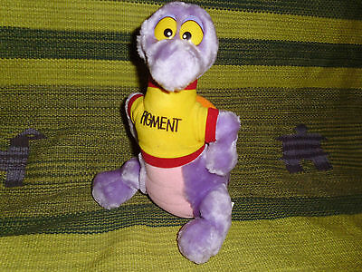 Vintage Disney World plush Epcot Center Figment stuffed toy Imagination WDW 10""