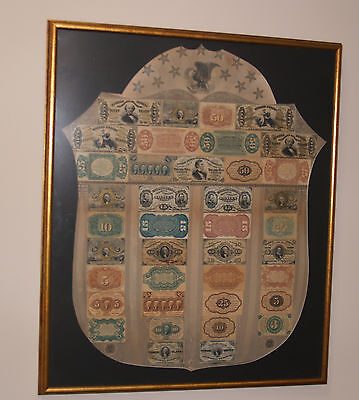 RARE United States Fractional Currency Shield!!!
