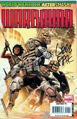 World War Hulk Warbound #1 Dynamic Forces Signed Pak Coa Ltd 15 Thor 3 Movie