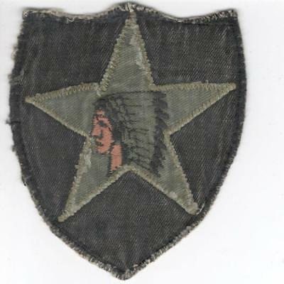 R013 2nd Infantry Division Patch Win or Buy 10 Items & Get Free US Shipping