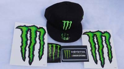 Monster Energy New Era 9Fifty Snapback Promotion NEW plus BONUS Stickers