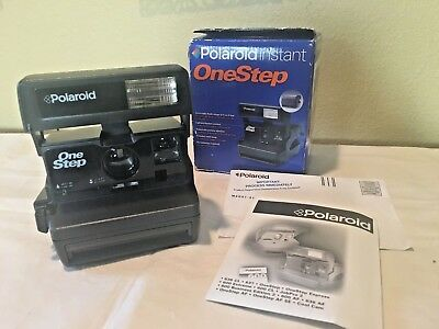 Vintage Never Used Polaroid OneStep Express 600 Instant Film Camera