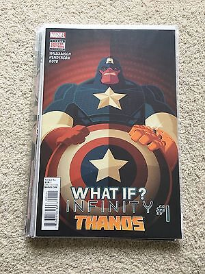 Marvel What If? Infinity Thanos Issue 1 Bagged & Boarded
