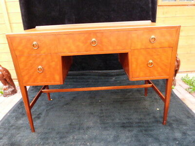 "Stunning Vintage Desk/dressing Table Marked ""maple Quality""."