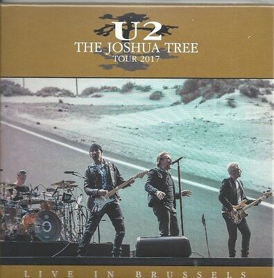 U2 - The Joshua Tree Tour 2017 Live In Brussels New 2Cd Sealed