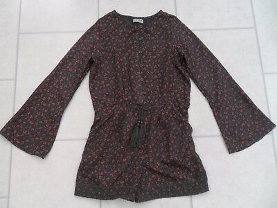 Girls Next Ditsy Floral Long Sleeve Playsuit Age 10 Years