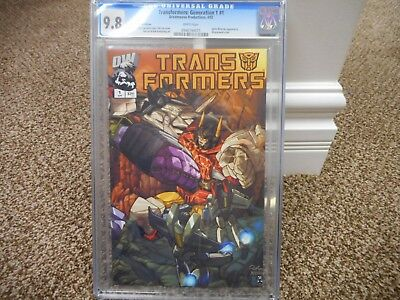 Transformers Generation One 1 cgc 9.8 RETAILER INCENTIVE EDITION DW 2002 MINT
