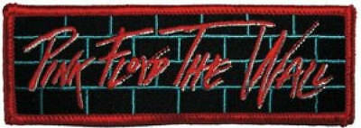 Pink Floyd The Wall Embroidered Patch / Iron On Applique