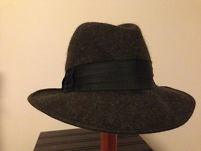 Vintage Royal Stetson RARE Whippet Hat Grey 1950's