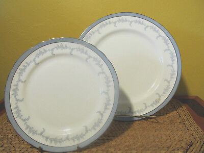 "Aynsley ""Kenmore"" (Scalloped/#8269) 1 Dinner & 4 Salad Plates  $90 Value"