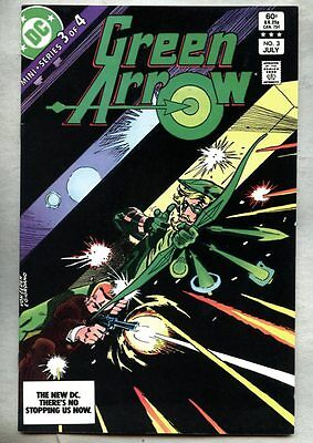 Green Arrow #3-1983 vf- Count Vertigo Dick Giordano
