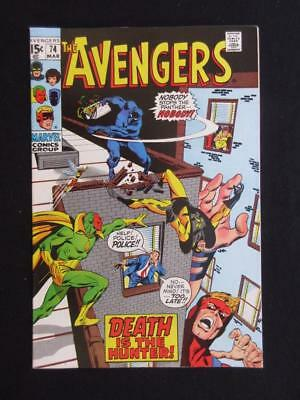 Avengers #74 MARVEL 1970 - NEAR MINT 9.4 NM - Sons of The Serpent app - Stan Lee