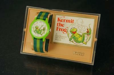 1979 Picco Kermit The Frog Muppets Collectors Vintage Wrist Watch W/ Case