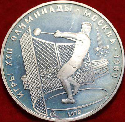 Uncirculated 1980 Russia 5 Roubles Silver Foreign Coin Free S/H