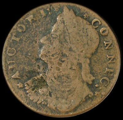 1787 Draped Bust Facing Left Connecticut Copper Colonial Coin