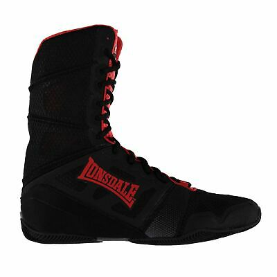 Lonsdale Mens Cruiser Hi Tops Boxing Boots Shoes Lace Up Training Sports
