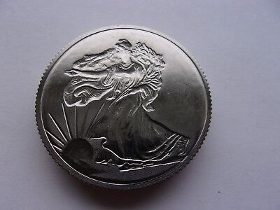 1 Ounce Titanium Coin Walking Liberty 1 Oz .999 Fine Titanium Round Made In Usa