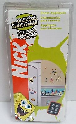 NEW! Nickelodeon Sponge Bob Square Pants Wall Stickers - Free Shipping!