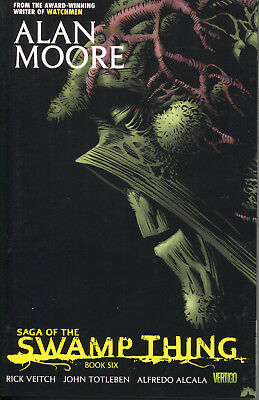 Saga of the Swamp Thing Book 6 tpb, Alan Moore, Rick Veitch, Stephen R. Bissette
