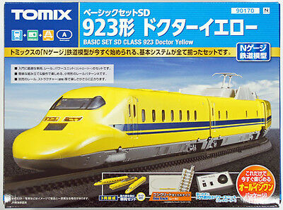 Tomix 90170 JR Series 923 Shinkansen Doctor Yellow N Scale Starter Set (N scale)
