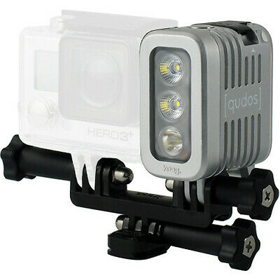 [qudos] Action Light by Knog - Silver  -  Suits GoPro Cameras  -  70-4