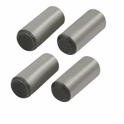 Carbon Steel GB117 20mm Length 8mm Small End Diameter Taper Pin 4pcs