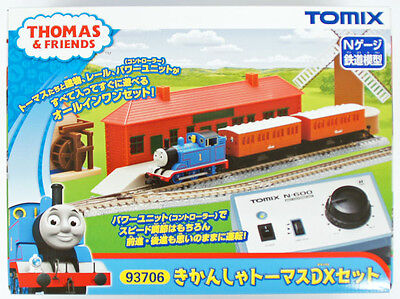 Tomix 93706 Thomas Engine & Friends Thomas DX Starter Set (N scale)