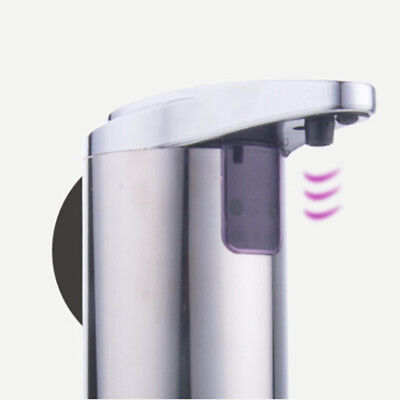 Electronic Touchless Automatic Soap Sanitizer Dispenser Kitchen Office Bathroom