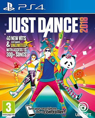 Just Dance 2018 18 - PS4 Playstation 4 Tanzspiel - NEU OVP