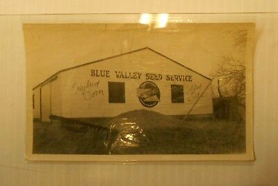 Vintage Blue Valley Seed Service Postcard Size Photo A O Wiggenjost Lincoln Neb